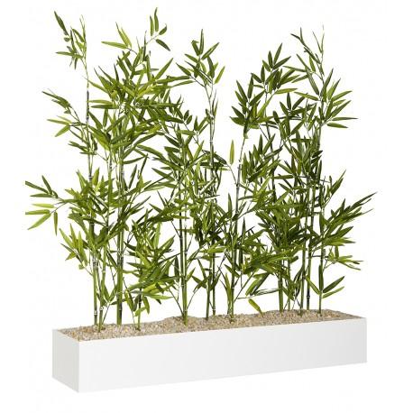 Jardiniere Basse Bambous L 1000 Mm