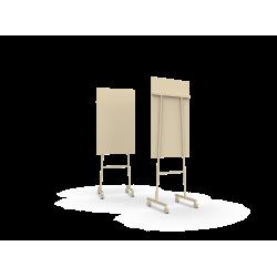 Mono tableau en verre mobile