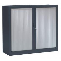 Amoire  Basse Haut 100 x Larg 120 cm  GENERIC  à 2 Portes Rideaux