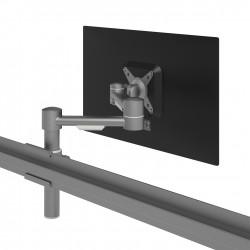 Mât avec Bras support 1 écran réglable en hauteur sur rail VIEWMATE