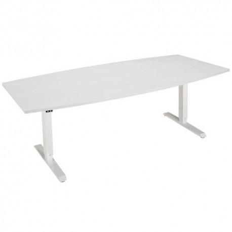 Table RéunionTonneau Long 200 cm Réglable hauteur- ENVOL EVO