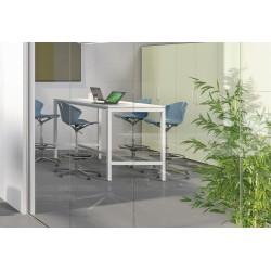 Table Haute  Long 180 cm- Pieds Arche