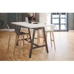 Table Haute L 160 x P 80 cm - COHESION