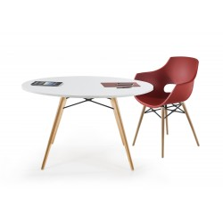 Table  Ronde Pieds Bois UNIVERSELLE