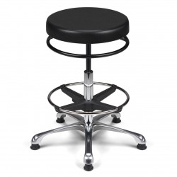 Tabouret Assise Ronde- TAPU-H
