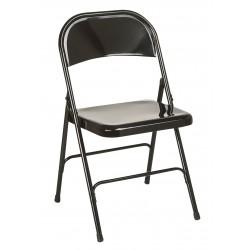 Chaise pliante CINDY acier