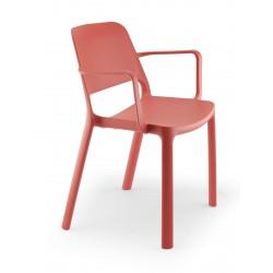 Maike fauteuil 4 pieds