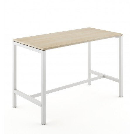 Table haute pied arche
