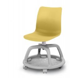 Chaise Formation sur roulettes