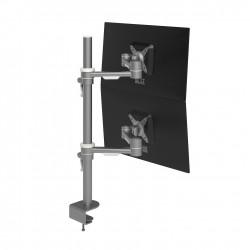 Mât 2 bras support  2 écrans  Verticaux VIEWMATE