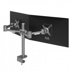 Mât 2 bras support 2 écrans Horizontaux VIEWMATE