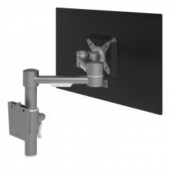 Mât avec un bras support 1 écran mural VIEWMATE