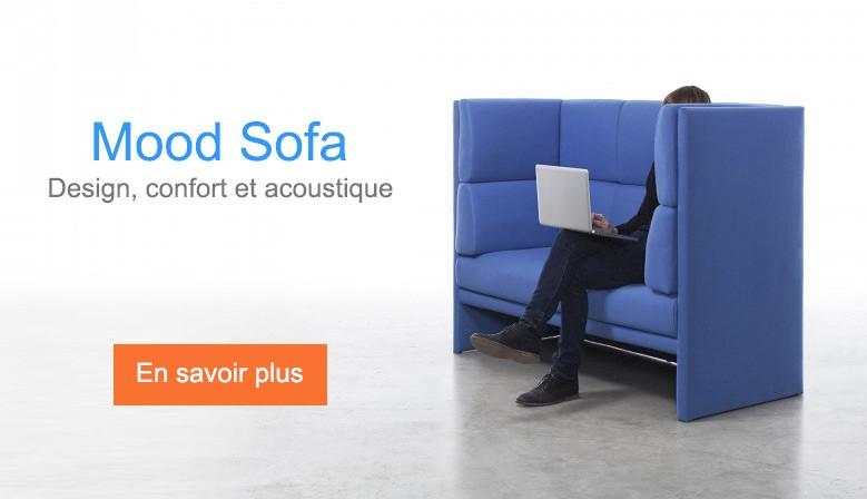 Mood Sofa - design, confort et acoustique