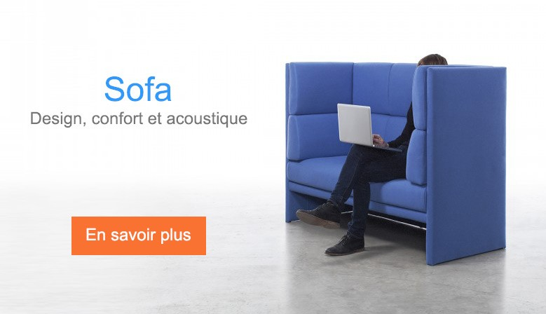 Sofa - design, confort et acoustique